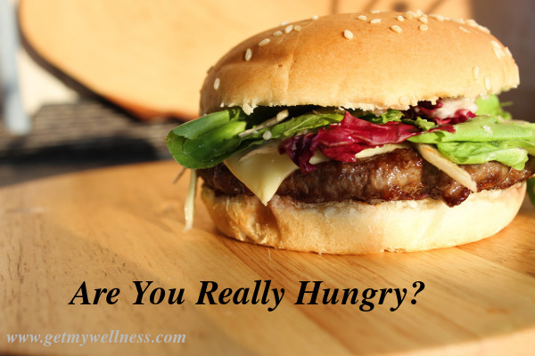 Are you really hungry? Or have you really bored or thirsty? Many people have forgotten how to tell the difference.