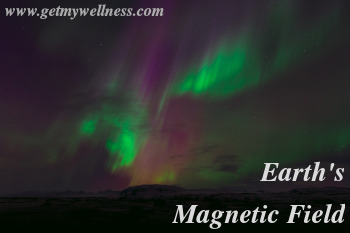 We receive a lot of energy from the Earth's magnetic field. That is, we do if we spend time outdoors.