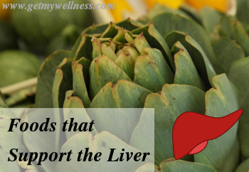 The artichoke is one of many foods that support the liver