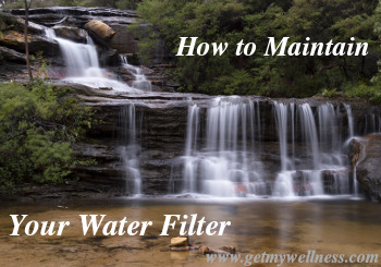 It is important to maintain your water filter so that you drink the best water possible.