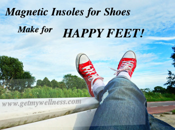 Magnetic insoles for shoes take care of your feet throughout the days so that they don't feel so tired and sore at the end of the day.