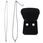 Nikken Milana magnetic necklace and magnetic earrings