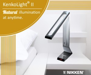 Nikken Full-Spectrum desk lamp