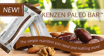 Nikken has introduced new Kenzen Paleo Bars. Organic snack bars with only four ingredients, real ingredients.