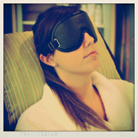 The Nikken PowerSleep Mask is comfortable, blocks light, and relaxes and energizes your eyes and their muscles.