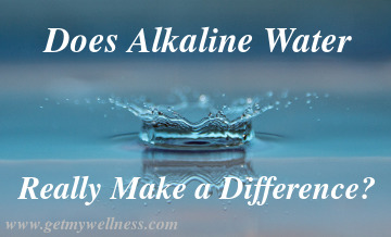 Does alkaline water really make a difference in how your water tastes?