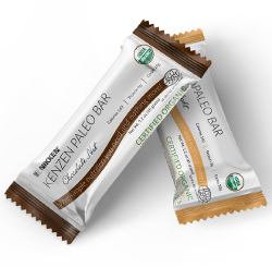 Nikken organic protein bars have only 4 ingredients. All real food.