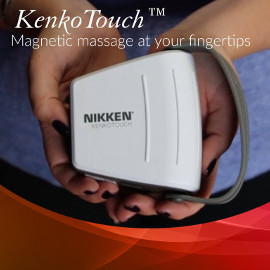Nikken has introduced the new KenkoTouch magnetic massage tool with DynaFlux magnetic technology