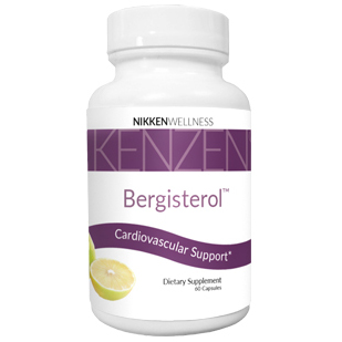 Kenzen Bergisterol has cardiovascular benefits