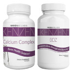 Kenzen Bone Health Pack contains new Kenzen BDZ and Calcium Complex