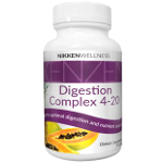 Kenzen Digestion supplement from Nikken contains vegetable-sourced enzymes to naturally support all stages of digestion.