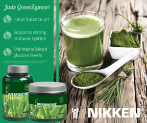 Nikken Jade GreenZymes - Barley Grass Powder