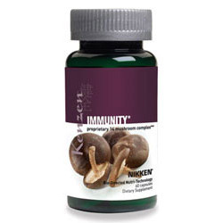 Kenzen Immunity is made from a blend of 14 different mushrooms known to support your immune system.