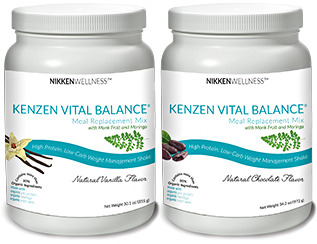 New Nikken Vital Balance Shake Mix with Moringa and Monk Fruit