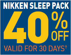 Save On Nikken Sleep Pack
