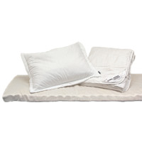 Nikken sleep packs combine your mattress topper, comforter and pillows into a convenient pack at a discount.