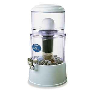 The old Nikken water filter, the PiMag Aqua Pour, is a great water filter, but not as good as the newer PiMag Waterfall